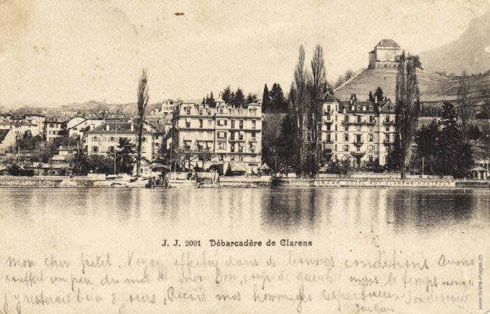 Débarcadère de Clarens - 2091