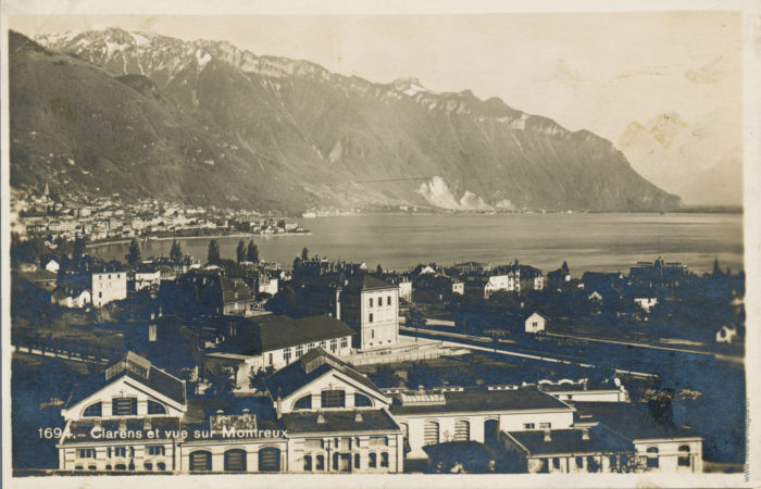 Clarens et vue sur Montreux - 1694