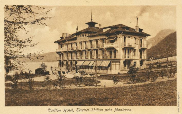 Carlton Hôtel, Territet-Chillon près Montreux