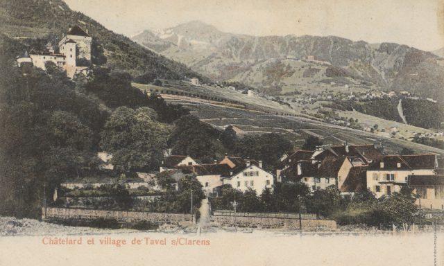 Le village de Tavel