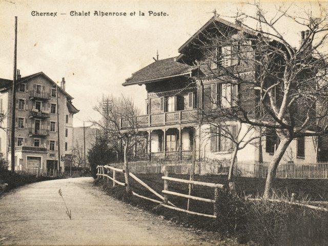 Chalet Alpenrose et Pension Alexandra