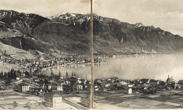 Panorama Clarens-Montreux