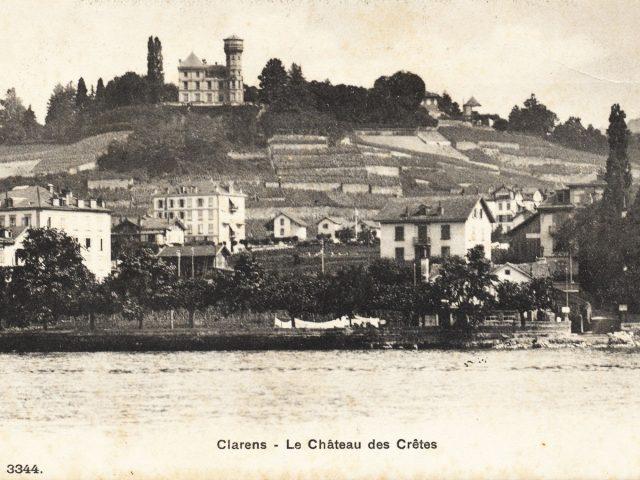 Clarens vu du Lac