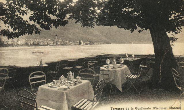 Terrasse de la Confiserie Wiedmer