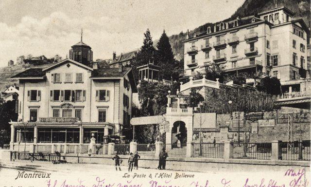 La Poste et l'Hôtel Bellevue