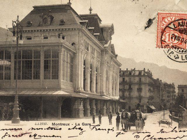 Gare et Poste de Montreux