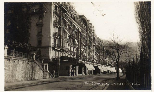 Les galeries du Montreux Palace