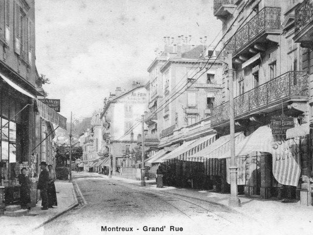 Grand Hôtel Suisse et magasins
