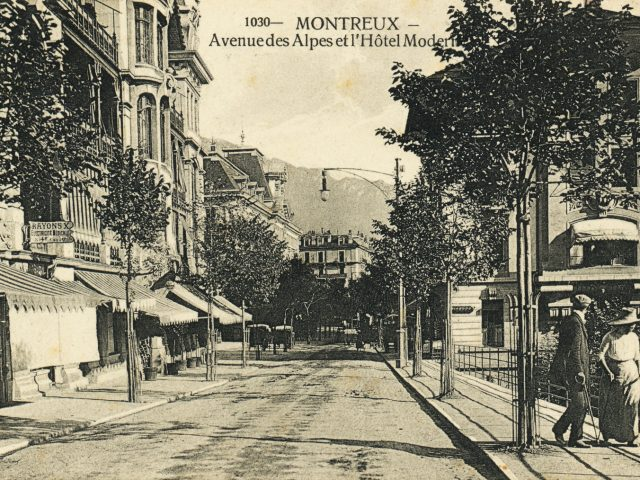 Avenue des Alpes 49 et Hôtel Moderne