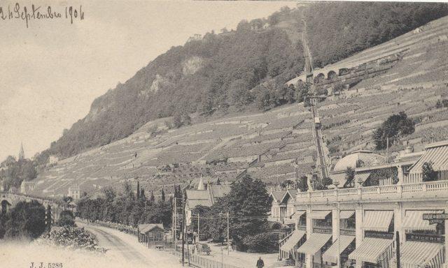 Riant-Château et la Gare de territet