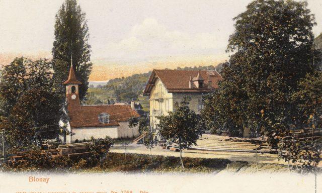 Route du Village – La chapelle