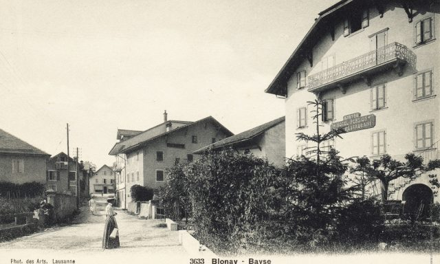 Route du Village 11 – Hôtel de Bahyse