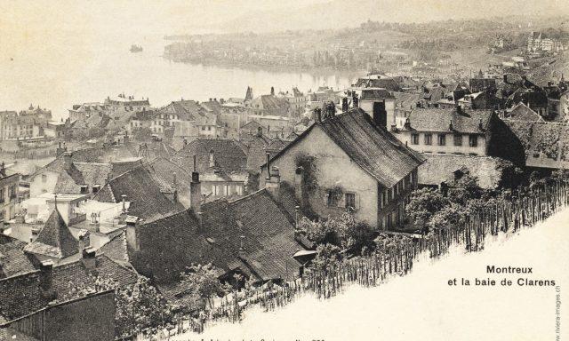 Montreux-Clarens – vue des Planches