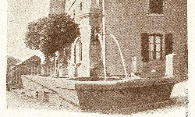 La fontaine de Sâles