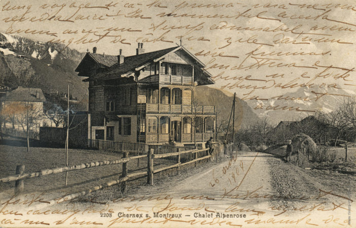 Chernex s.Montreux - Chalet Alpenrose - 2208