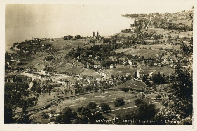 Vevey et Clarens - Les rives du Léman - 59