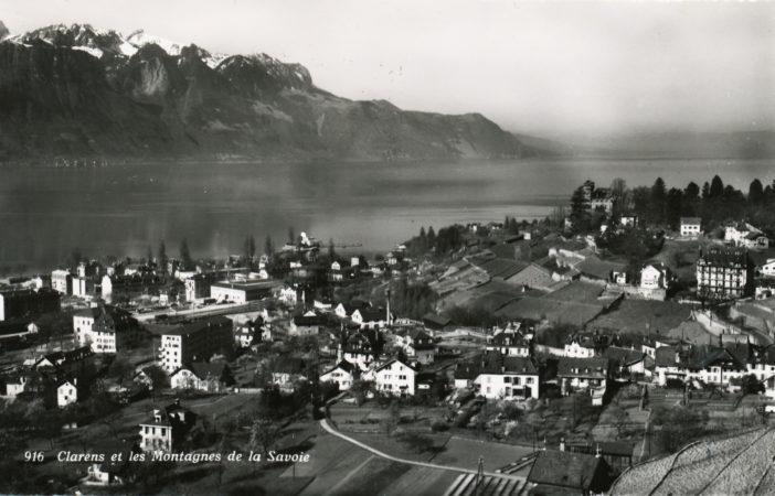 Clarens et les montagnes de éa Savoie - 916