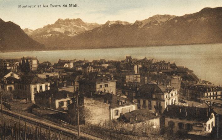 Montreux et les dents du Midi