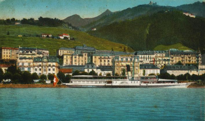 Hôtel Splendid vu du lac