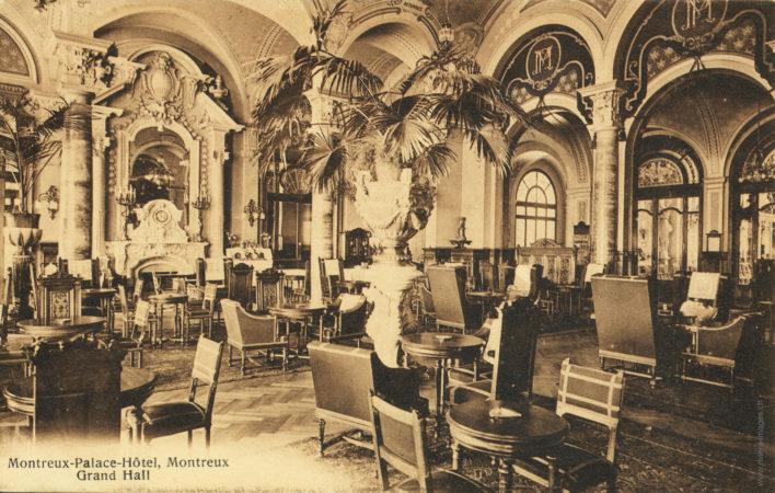 Montreux-Palace-Hôtel - Grand Hall