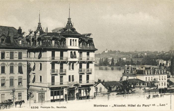 Montreux - Nicodet, Hôtel du Parc et Lac - 4196