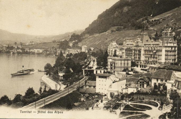Territet - Hôtel des Alpes