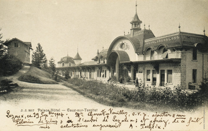 Palace-Hôtel - Caux sur Territet - 2617