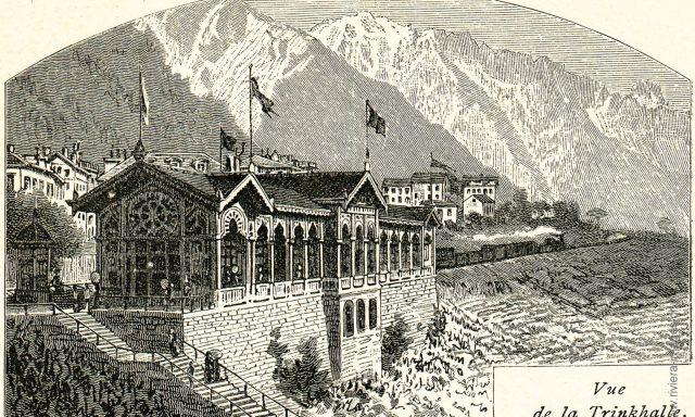Trinkhalle de la Société des Eaux alcalines de Montreux