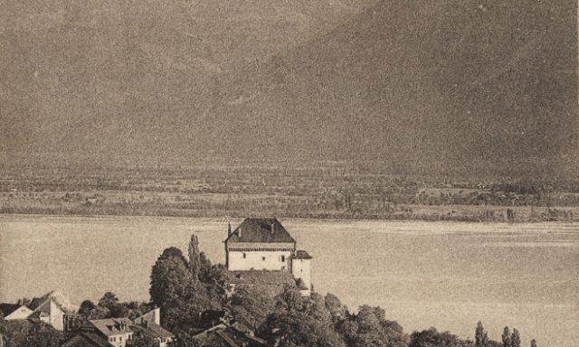 Château du Châtelard et Dent du Midi