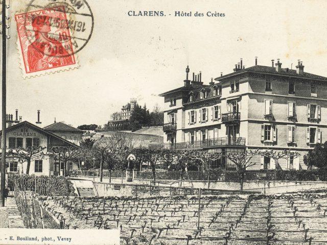 Hôtel des Crêtes (la Poste) – Clarens