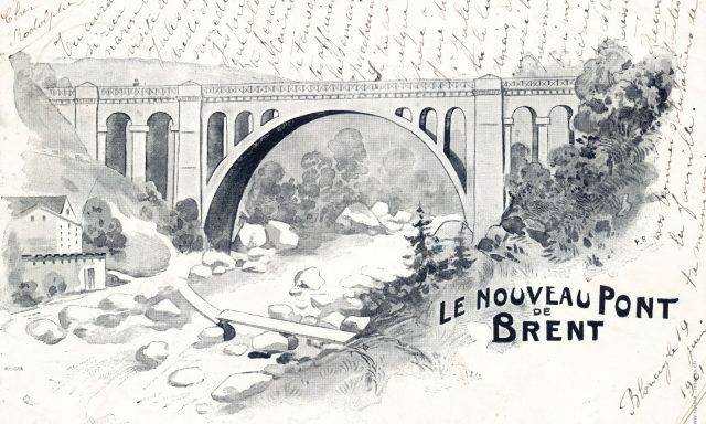 Le nouveau Pont de Brent