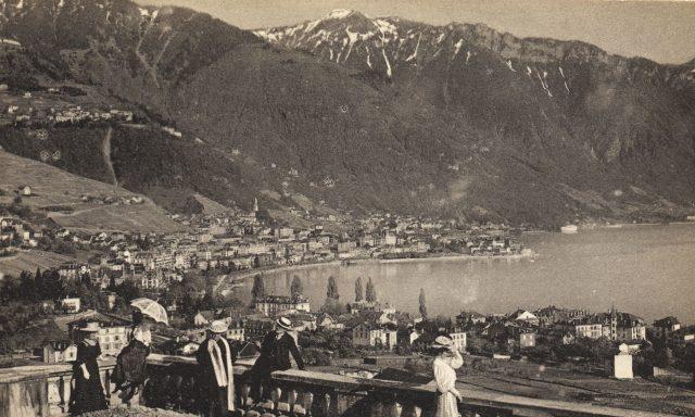 Clarens et Montreux vus des Crêtes
