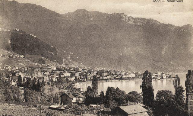 Royal Hôtel et vue sur Montreux