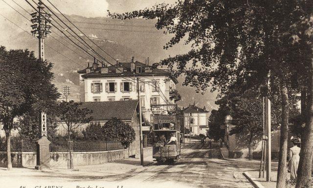 Tramway à la Rue du Lac – Clarens