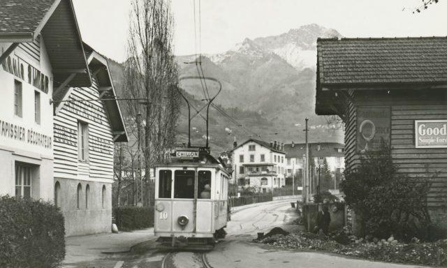 Tram Rue du Lac 135
