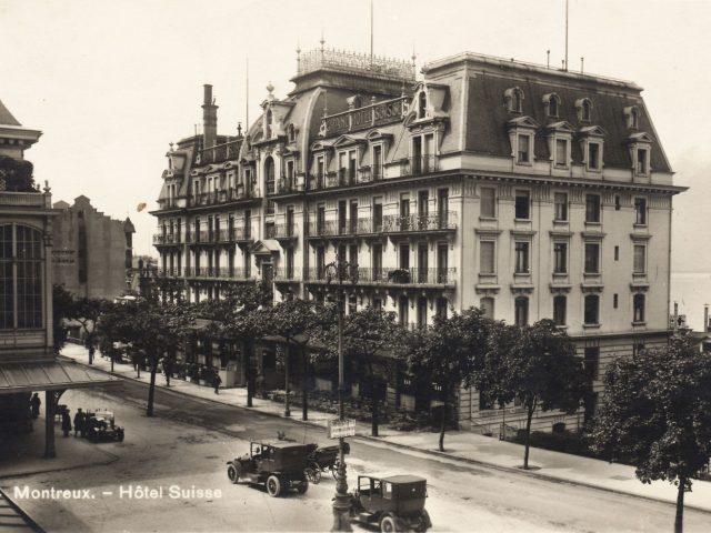 Grand Hôtel Suisse et la Gare