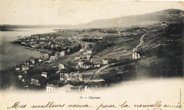 Vue sur les Colondalles et Clarens