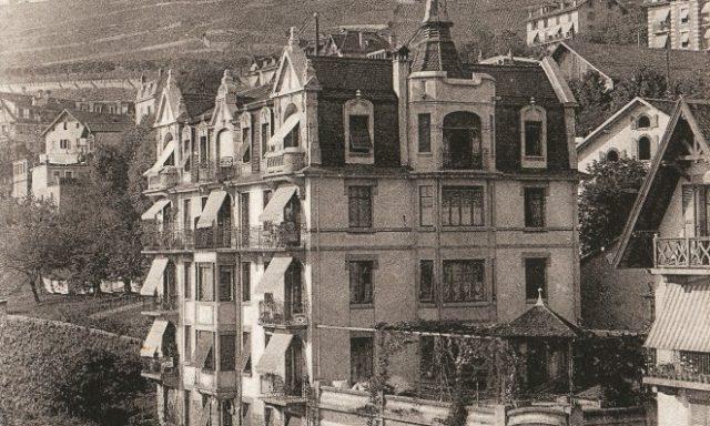 Rue du Centre 1, Imprimerie Leyvraz