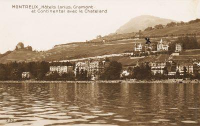 Hôtels Lorius, Grammont et Continental avec la Châtelard