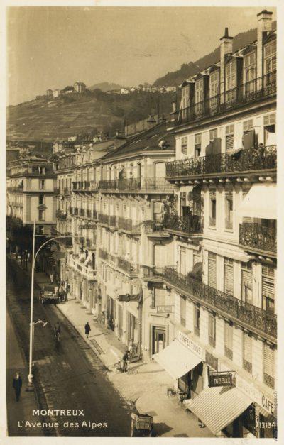 Avenue des Alpes 62-64 et Hôtel Cécil