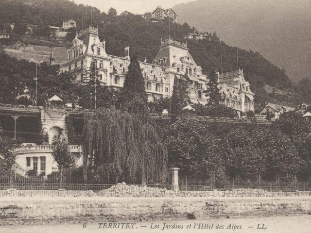 Grand Hôtel des Alpes depuis le quai