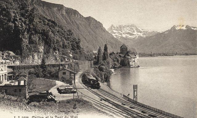 Gare de Veytaux-Chillon
