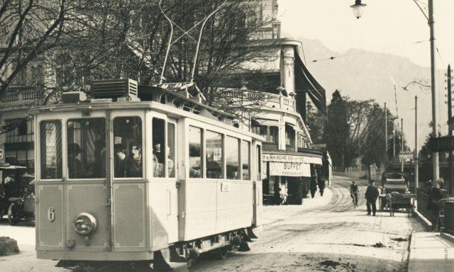 Tramway à Territet