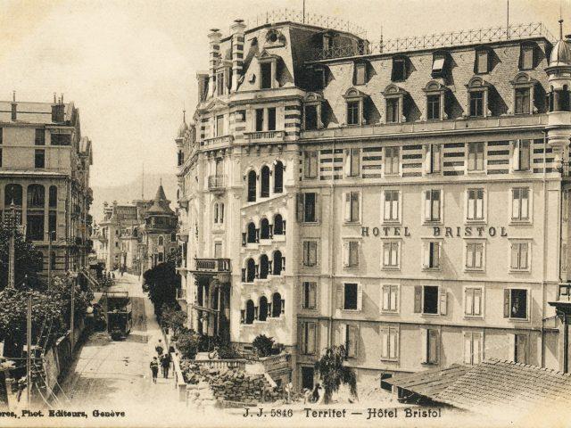 Hôtel Bristol (entrée)