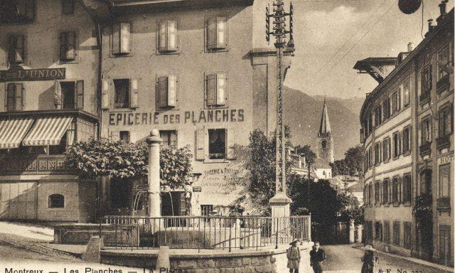 L'épicerie des Planches et l'Hôtel de l'Union