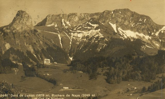 Sonloup vu depuis l'alpage de Mouce