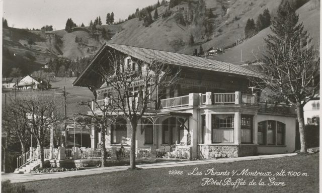 Hôtel-Buffet de la Gare, Les Avants