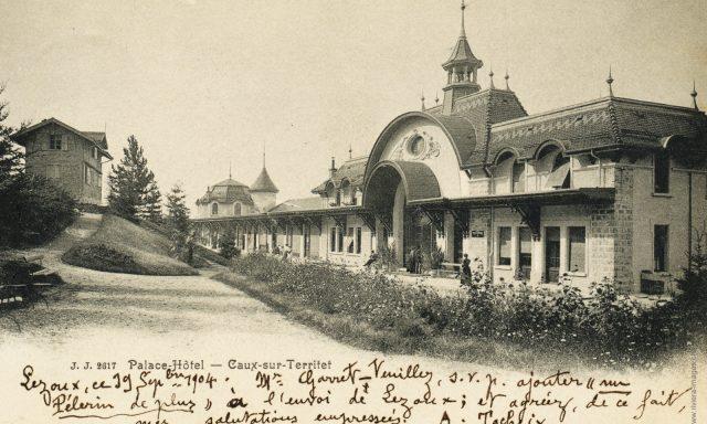 Caux-Palace – L'entrée
