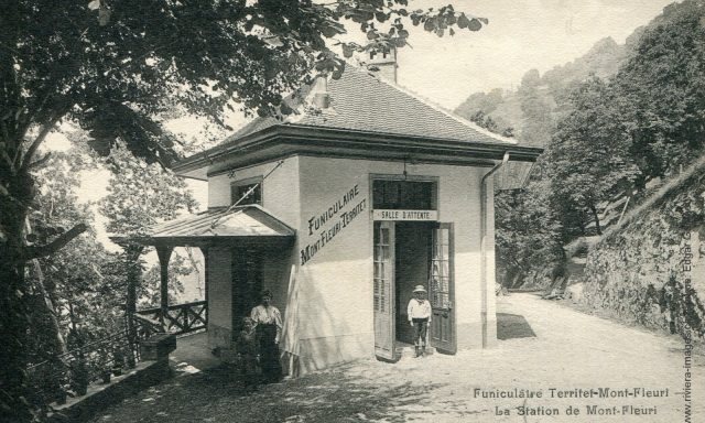 Funiculaire Territet – Mont-Fleuri: La station de Mont-Fleuri
