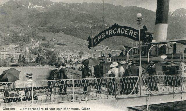 L'embarcadère de Clarens